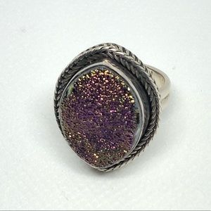 Sterling Silver NB India 925 Ring